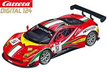 Carrera DIGITAL 124 Ferrari 458 Italia GT3 AF Corse 1/24 slot car 20023879