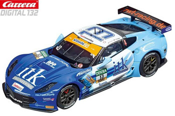 Carrera DIGITAL 132 Chevrolet Corvette C7R RWT Racing 1/32 slot car 20030874