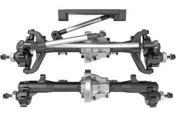 Redcat Racing Everest Gen7 assembled portal axles