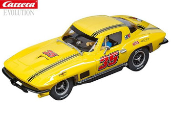 Carrera Chevrolet Corvette Sting Ray 1/32 slot car 20027615