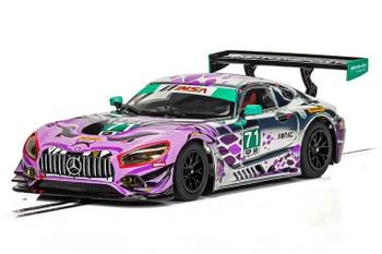 Scalextric Mercedes AMG GT3 P1 Motorsports Daytona 2018 1/32 slot car C4044
