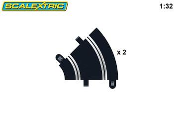 Scalextric radius 1 45 degree curve track C8202
