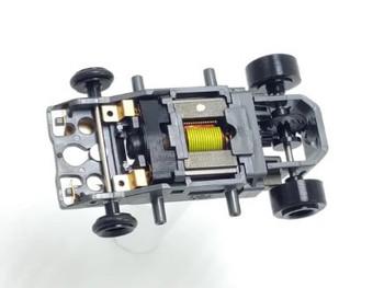 Viper V1 production modified (3 ohm) RTR HO slot car chassis 10110