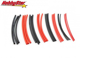 HobbyStar 2 thru 6mm diameter heat shrink tubing variety pack