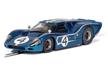 Scalextric Ford GT MKIV 1967 24 Hours of Le Mans 1/32 slot car C4031
