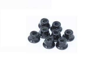 Redcat Racing M4 serrated flanged nylon lock nuts RER12694 70129