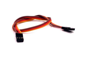 Integy 160mm servo wire harness with male plugs on both ends C23379