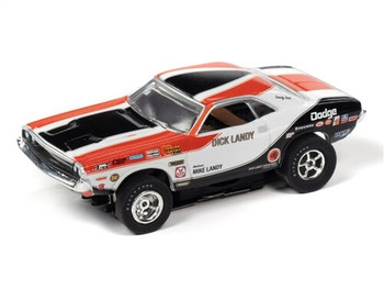 Auto World X-Traction 1970 Dodge Challenger Dick Landy HO slot car