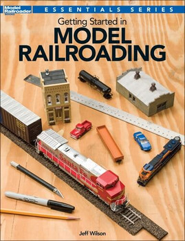 Getting Started in Model Railroading book by Jeff Wilson 12495