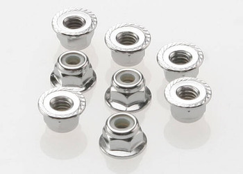 Traxxas 4mm steel flanged wheel nuts 3647