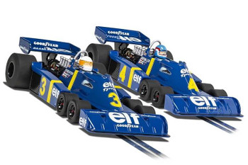 Scalextric Tyrrell P34 1976 Swedish Grand Prix Limited Edition 1:32 slot car twin pack C4084A