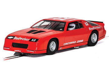 Scalextric Chevrolet Camaro IROC-Z red 1/32 slot car C4073