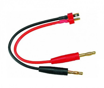 HobbyStar Deans male T-plug charge lead