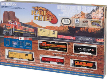 Bachmann Rail Chief HO scale train set box 00706