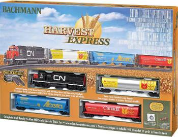 Bachmann Harvest Express HO scale train set box 00735