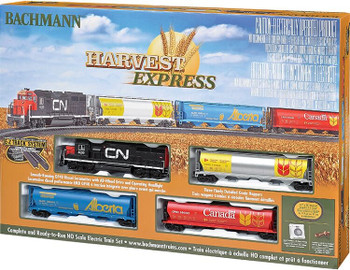 Bachmann Harvest Express HO scale train set box 00735