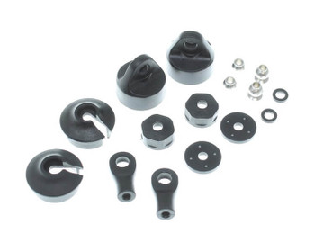 Redcat Racing Kaiju plastic shock parts set with balls RER12453