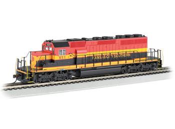 Bachmann EMD SD40-2 Kansas City Southern 651 HO scale diesel locomotive (DCC Sound Value)