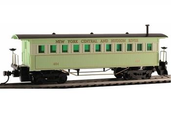 Mantua Classics HO NYC & Hudson 1860 wooden passenger coach car