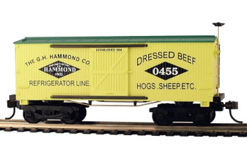 Mantua Classics HO Hammond Co 1860 wooden reefer