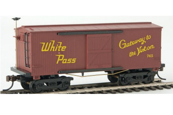 Mantua Classics HO White Pass 1860 wooden reefer