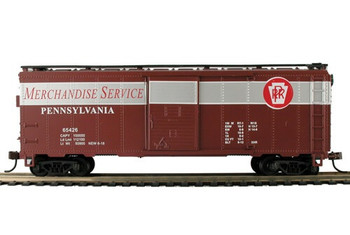 Mantua Classics HO PRR Merchandise Service  41' steel box car