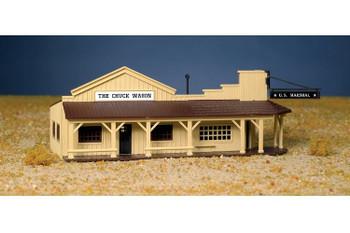 Bachmann Marshal's office & restaurant HO scale building kit 45161