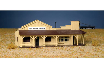 Bachmann Marshal's office & restaurant HO scale building kit 45161