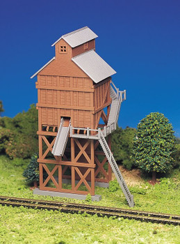 Bachmann coaling station HO scale building kit 45211