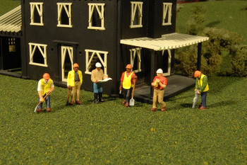 Bachmann Scene Scapes civil engineers HO scale figures 33116