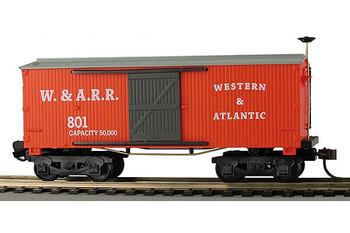 Mantua Classics HO Western & Atlantic 1860 wooden box car