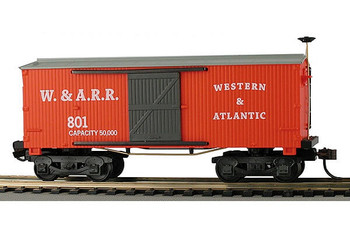 Mantua Classics HO Western & Atlantic 1860 wooden box car