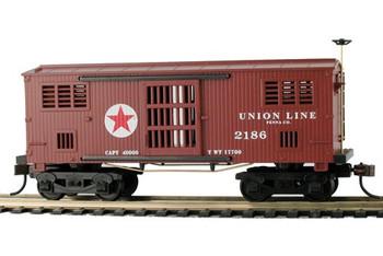 Mantua Classics HO PRR Union Line 1860 wooden horse car