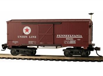 Mantua Classics HO PRR Union Line 1860 wooden box car