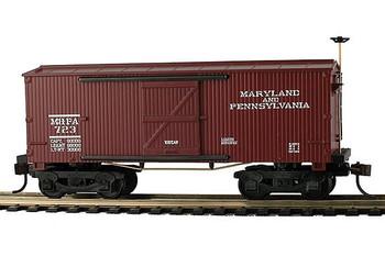 Mantua Classics HO Ma & Pa 1860 wooden box car