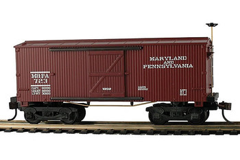 Mantua Classics HO Ma & Pa 1860 wooden box car
