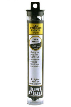 Woodland Scenics Just Plug cool white LED stick-on lights JP5741