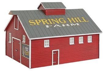 IMEX Perma-Scene Barn II HO scale 6131
