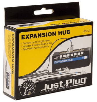 Woodland Scenics Just Plug expansion hub JP5702