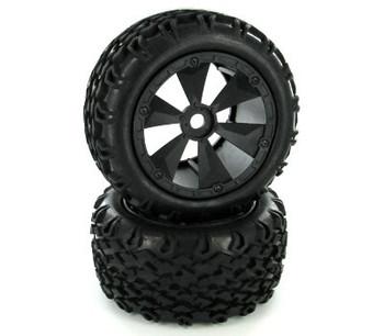 Redcat Racing Shredder tire & wheel set BS810-001