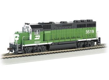 Bachmann HO EMD GP40 Burlington Northern 3519 HO scale diesel locomotive (DCC Ready)
