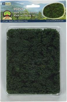 JTT foliage-fiber clusters dark green - coarse 95059