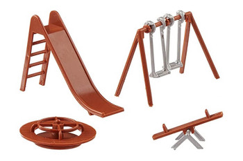 Bachmann playground equipment HO scale 42214