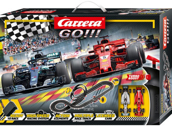 Carrera GO Speed Grip slot car set 20062482