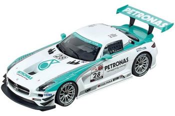 Carrera DIGITAL 124 Mercedes-Benz SLS AMG GT3 Petronas 1/24 slot car 20023837