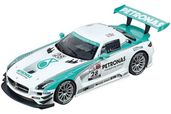 Carrera DIGITAL 124 Mercedes-Benz SLS AMG GT3 Petronas 1/24 slot car 20023837