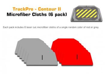 TrackPro Contour II microfiber cloths