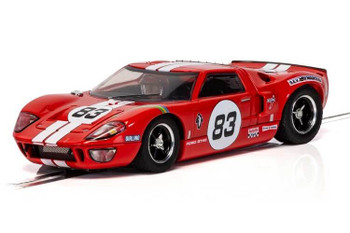 Scalextric Ford GT40 red 1/32 slot car C4152