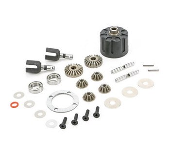 Redcat Racing RC-MT10E complete front/rear differential kit 510101