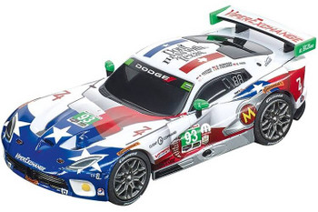Carrera GO 2015 Dodge Viper SRT GT3-R Ben Keating Team 1/43 slot car 20064160